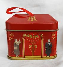 Maxim's De Paris Shop Shape Chocolate - Hanging Tin Box / Gift Box / Decoration