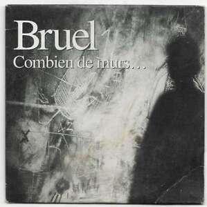 """CD Patrick BRUEL """" Combien de mur & S'laisser aimer """""""