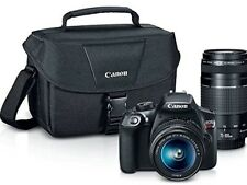 Canon T6 DSLR Camera Premium Kit w/ Canon 18-55mm Lens + Canon EF 75-300mm + BAG
