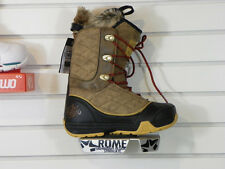 New Womens 2014 Rome Memphis Snowboard Boots Size 8 Brown
