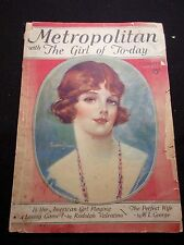 1/23 METROPOLITAN WITH GIRL OF TODAY RARE FREDERICK DUNCAN COVER MOVIE STARS