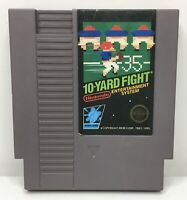 Nintendo NES 10-Yard Fight Video Game Cartridge *Authentic/Cleaned/Tested*