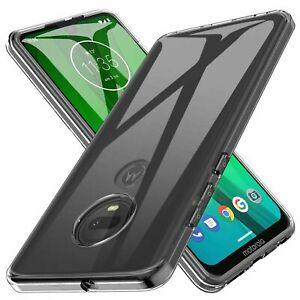 For Motorola Moto G7 Plus / G7 Power / G7 Supra Play Clear Shockproof Case Cover