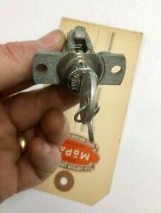 1941,1942 Chrysler, Plymouth, Dodge Desoto Glove Box Lock and Key Set, N.O.S.
