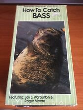 How To Catch Bass (VHS) Jay S. Warburton, Roger Moore...65