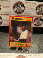 1991 Jimmy Dean Signature Edition Frank Thomas Rookie No.9 of 25 White Sox