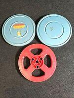 VINTAGE MILLER'S SUPER 8 FILM CANISTER AND REEL