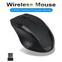 6D 2.4GHz USB Wireless Optical Gaming Mouse 2000DPI Mice For Laptop Desktop PC