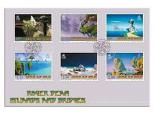 Roger Dean's Islands and Bridges First Day Cover (UM91)