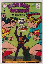 1968 DC COMICS WONDER WOMAN #177 IN VG CONDITION - SUPERGIRL