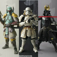 Star Wars Bandai MOVIE REALIZATION White Star Wars Samurai Action Figure Toys