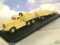 OXFORD 1/76 DIAMOND T 980 TANK TRANSPORTER TRC WESTERN DESERT CAIRO 1942 76DT001