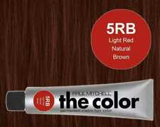 Paul Mitchell THE COLOR Permanent Hair Color 3oz, 5RB Light Red Natural Brown