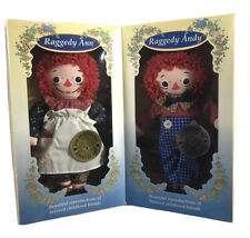 Hasbro 1996 75th 80th Anniversary Raggedy Ann & Raggedy Andy Dolls B011
