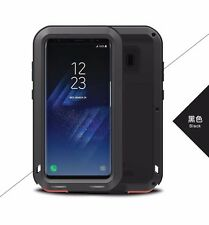 LOVE MEI New Shockproof Gorilla Glass Strong Aluminum Metal Case Cover For Phone