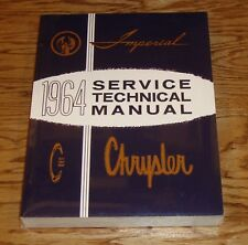 1964 Chrysler & Imperial Shop Service Technical Manual 64