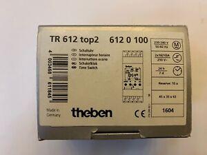 Theben TR 612 top2 Schaltuhr 2 Kanal. Neu mit OVP.