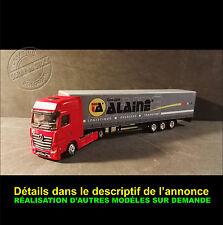Camion Miniature Transports Alainé 1/87 HO