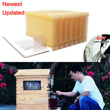 7Pcs Auto Flow Honey Beehive Frame Beekeeping Kit Bee Hive Frame Harvesting