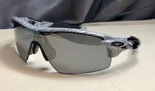 Oakley Sunglasses : Radarlock Pitch Asia Fit -Fingureprint Pol Wht- Blk Irid Pol