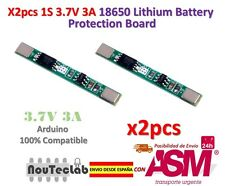 2pcs 1S 3.7V 3A li-ion BMS PCM battery protection board 18650 lithium battery