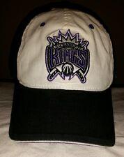NBA SACRAMENTO KINGS Embroidered Logo Adidas and Reebok Flexfit Ball Cap Hat