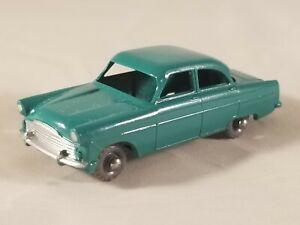 Matchbox Lesney #33 Ford Zodiac - Green w/ Gray Plastic Wheels NM