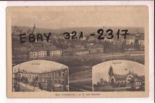 Bad Homburg  1918 Feldpost Bahnhof Kurhaus  und Totale !!