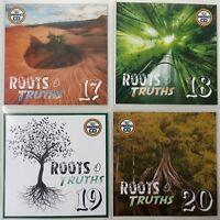 Roots & Truths 4CD Jumbo Pack 5 (Vol 17-20) - Classic, Deep & Rare Roots Reggae