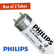 2 X Philips 58W Daylight 865 5FT (1500mm) T8 Fluorescent Tube (G13)