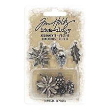 Nuevo Tim Holtz Idea-Ology capas de Navidad y marcos de placa base
