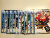 Eishockey Magazin---1997---Kompletter Jahrgang--12 Magazine--guter Zustand