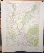 Vintage 1956 USGS TEMPLE QUADRANGLE PENNSYLVANIA  1:24,000