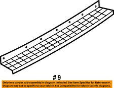 FORD OEM Rear Bumper-Step Pad Protector Scratch Guard Cover 6L2Z17B807AAA