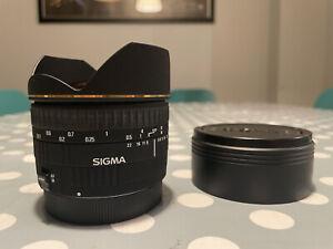 Sigma 15mm f/2.8 DG EX Fisheye Lens - Canon EOS fit - Good condition