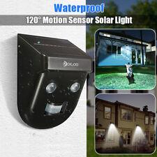 Digoo LED Solar Power PIR Motion Sensor Wall Light Outdoor Waterproof Garden