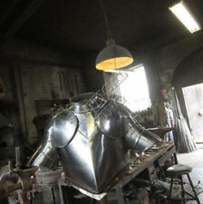 Steel Armor Costume Collectible Medieval Knight Reenactment & Reproduction 18 ga