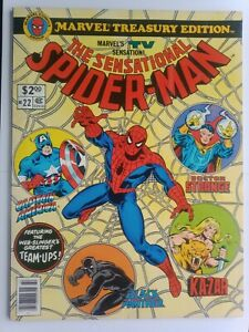 THE SENSATIONAL SPIDER-MAN #22 MARVEL TREASURY EDITION  NICE HIGHER GRADE