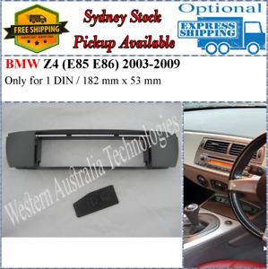 Fascia facia Fits BMW Z4 E85 E86 2003-2009 Single One 1 DIN Dash Kit