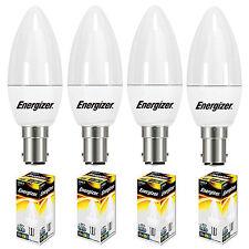 4x 5.9w=40w LED Candle SBC B15 Small Bayonet Cap Energy Saving Light Bulbs S8878