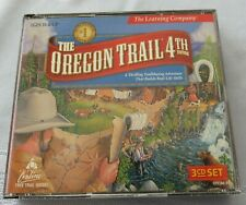 The Oregon Trail 4Th Edition - Pc - 3 Disc Set & Manual - 1999 Learning Company