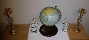 Vintage 1940s Chad Valley desk globe