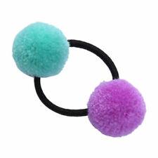 Accessoires de coiffure élastiques verts pour femme