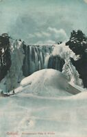 QUEBEC QC – Montmorency Falls in Winter