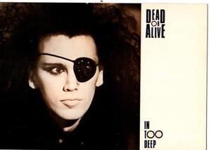 DEAD OR ALIVE -  Postcard - France