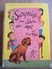 Enid Blyton: Surprise au clan des sept/ Nouvelle Bibliothèque Rose, 1964
