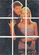 "Buffy Season 2 - d1 - 9 ""Dark Destiny"" Set of 9 Puzzle Chase Cards"