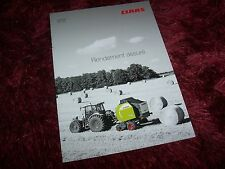 Catalogue / Brochure CLAAS Variant 370 350 2009 //