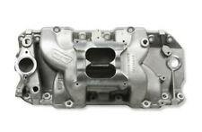 WEIAND 8018 Big Block Chevy Rectangle Port STEALTH Dual Plane Intake Manifold