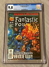Fantastic Four #1 CGC 9.8 Wrap-Around Cover Heroes Return The Legend Begins ANEW